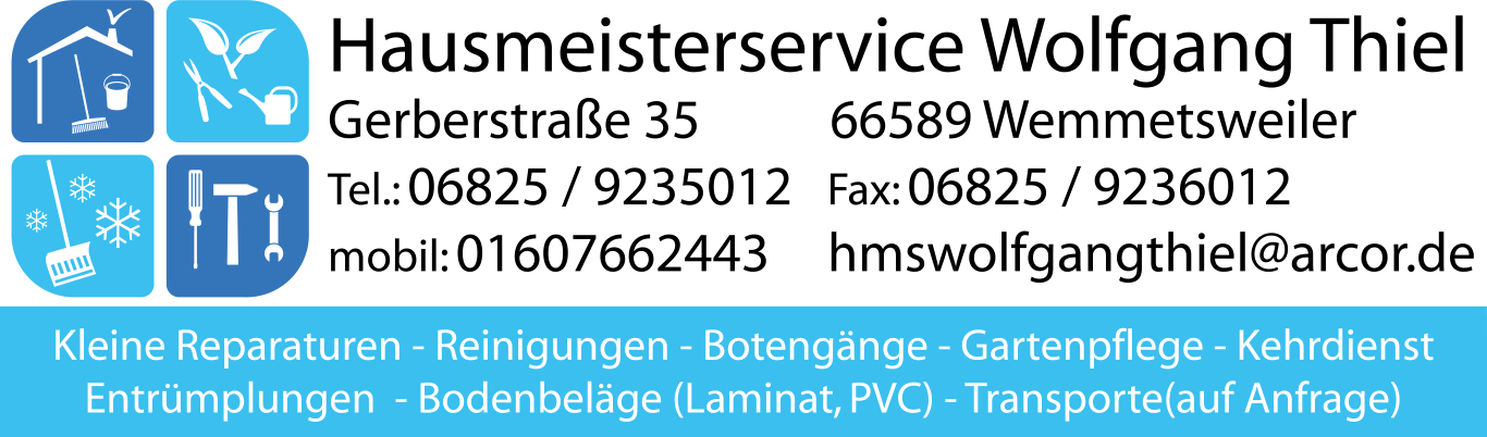 Hausmeisterservice Wolfgang Thiel